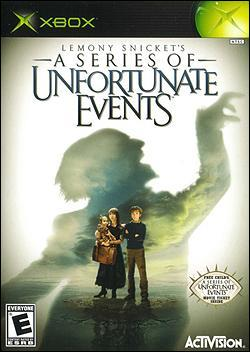 Lemony Snicket: A Series of Unfortunate Events (Xbox) by Activision Box Art