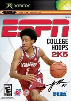 ESPN College Hoops 2K5 (Xbox) by Sega Box Art