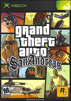 Grand Theft Auto: San Andreas (Xbox) by Rockstar Games Box Art