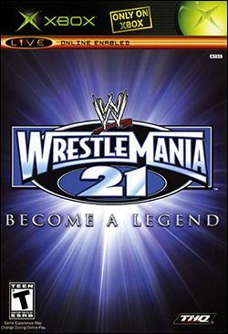 WWE WrestleMania 21 (Xbox) by THQ Box Art