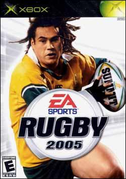 Rugby 2005 (Xbox) by Electronic Arts Box Art