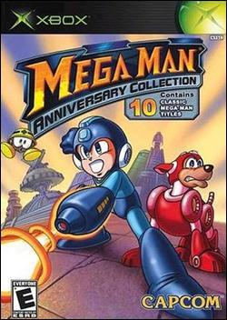 Mega Man Anniversary Collection (Xbox) by Capcom Box Art