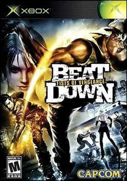 Beat Down : Fist of Vengenance (Xbox) by Capcom Box Art