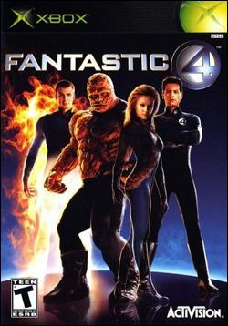 Fantastic Four (Xbox) by Activision Box Art
