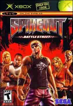 Spikeout:  Battle Street (Xbox) by Sega Box Art