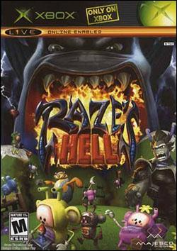 Raze's Hell (Xbox) by Majesco Box Art