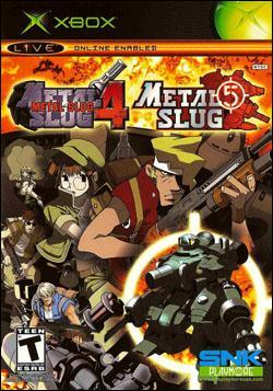 Metal Slug 4 & 5 (Xbox) by SNK NeoGeo Corp. Box Art