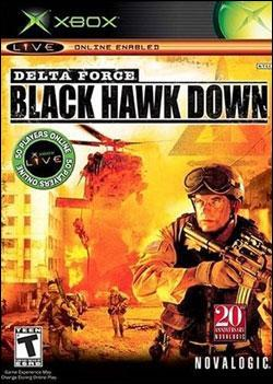 Delta Force: Black Hawk Down (Xbox) by Novalogic Box Art
