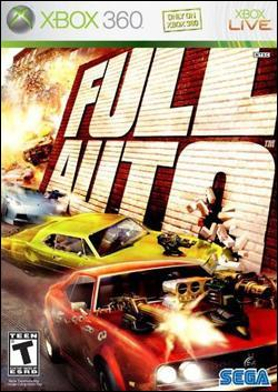 Full Auto (Xbox 360) by Sega Box Art