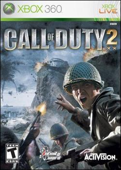 Call of Duty 2 (Xbox 360) by Activision Box Art