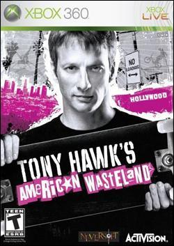 Tony Hawk's American Wasteland (Xbox 360) by Activision Box Art