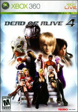 Dead or Alive 4 (Xbox 360) by Tecmo Inc. Box Art