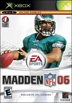Madden NFL 06 (Xbox) by Electronic Arts Box Art