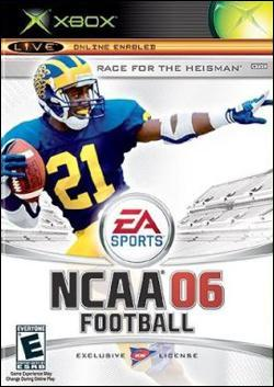 NCAA Football 06 (Xbox) by Electronic Arts Box Art