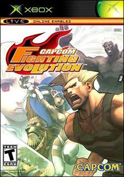 Capcom Fighting Evolution (Xbox) by Capcom Box Art