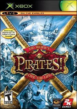 Sid Meier's Pirates! (Xbox) by Atari Box Art
