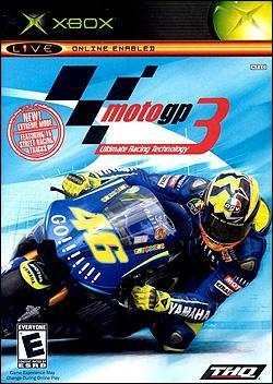 MotoGP 3 (Xbox) by THQ Box Art