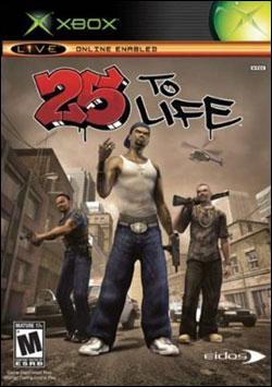 25 To Life (Xbox) by Eidos Box Art
