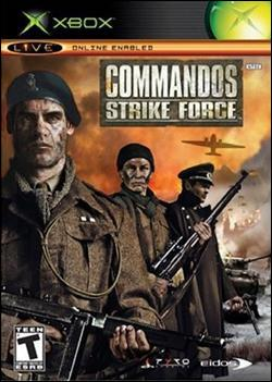 Commandos: Strike Force (Xbox) by Eidos Box Art