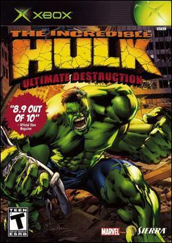 The Incredible Hulk: Ultimate Destruction (Xbox) by Vivendi Universal Games Box Art