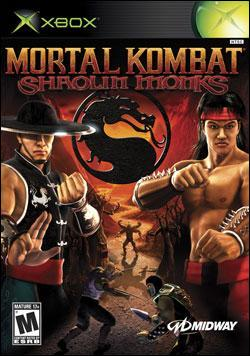 Mortal Kombat: Shaolin Monks (Xbox) by Midway Home Entertainment Box Art