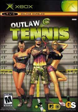 Outlaw Tennis (Xbox) by Global Star Software Box Art