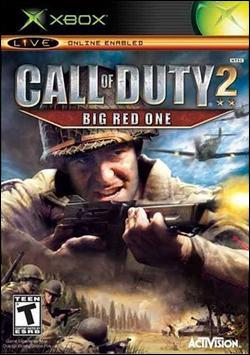 Call of Duty 2: Big Red One (Xbox) by Activision Box Art