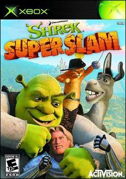 Shrek SuperSlam (Xbox) by Activision Box Art