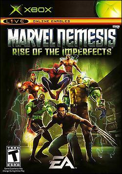 Marvel Nemesis: Rise of the Imperfects (Xbox) by Electronic Arts Box Art
