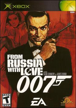 James Bond 007: From Russia With Love (Xbox) by Electronic Arts Box Art