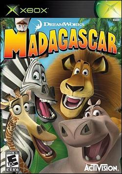 Madagascar (Xbox) by Activision Box Art