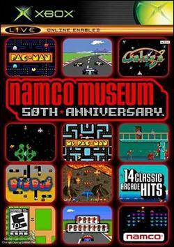 Namco Museum 50th Anniversary Arcade Collection (Xbox) by Namco Bandai Box Art
