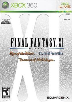 Final Fantasy XI Online (Xbox 360) by Square Enix Box Art