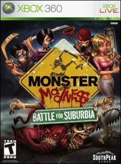 Monster Madness: Battle For Suburbia (Xbox 360) by 2K Games Box Art