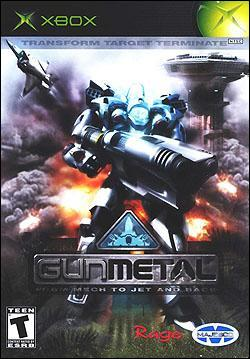 Gun Metal (Xbox) by Majesco Box Art