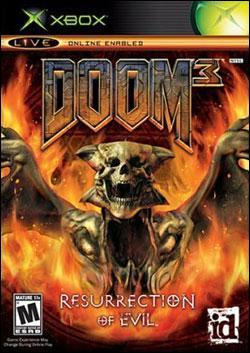 Doom 3: Resurrection of Evil (Xbox) by Activision Box Art