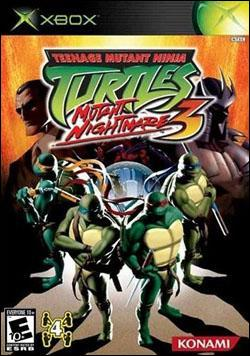 Teenage Mutant Ninja Turtles 3: Mutant Nightmare (Xbox) by Konami Box Art