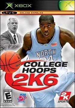 College Hoops 2K6 (Xbox) by 2K Games Box Art