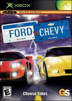 Ford vs. Chevy (Xbox) by 2K Games Box Art