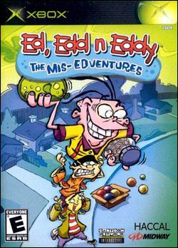 Ed, Edd, Eddy: Mis-Edventures (Xbox) by Midway Home Entertainment Box Art