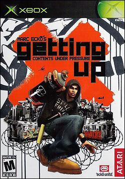 Marc Ecko's Getting Up (Xbox) by Atari Box Art