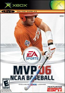 MVP 06: NCAA Baseball (Xbox) by Electronic Arts Box Art