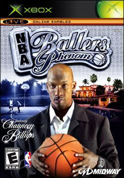 NBA Ballers: Phenom (Xbox) by Midway Home Entertainment Box Art