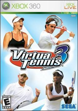Virtua Tennis 3 (Xbox 360) by Sega Box Art
