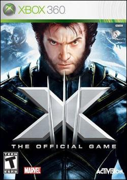 X-Men The Official Game (Xbox 360) by Activision Box Art