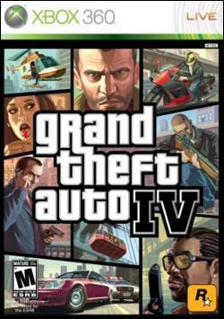 Grand Theft Auto IV (Xbox 360) by Rockstar Games Box Art