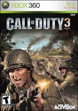 Call of Duty 3 (Xbox 360) by Activision Box Art