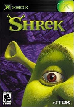 Shrek (Xbox) by TDK Mediactive Box Art