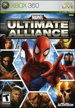 Marvel Ultimate Alliance (Xbox 360) by Activision Box Art