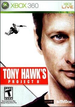 Tony Hawk's Project 8 (Xbox 360) by Activision Box Art